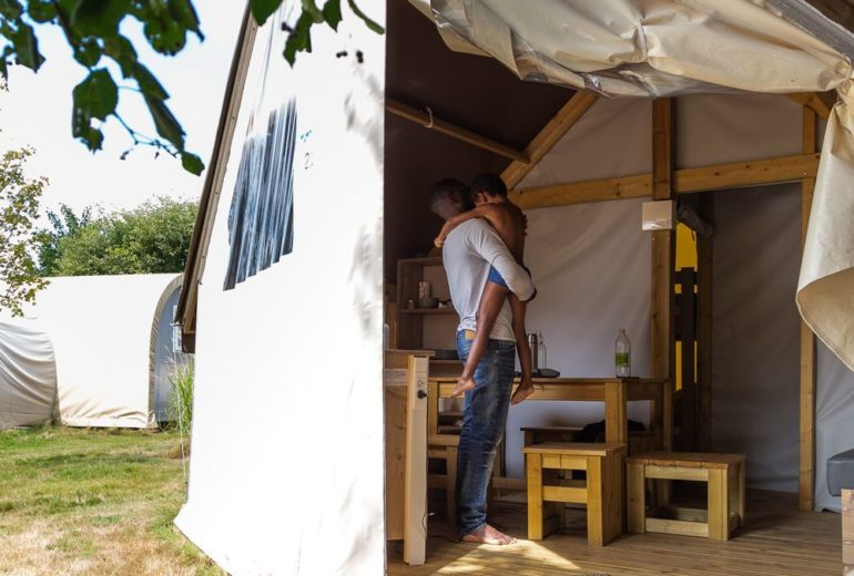 lodge famille camping