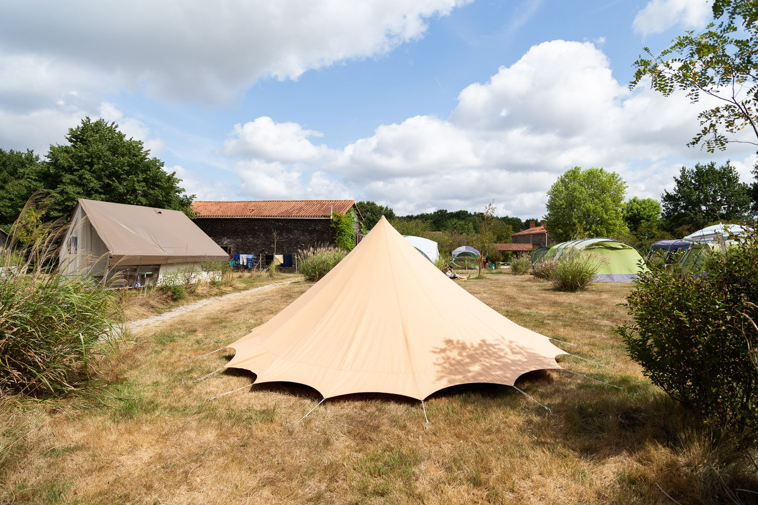 nature camping toile tente